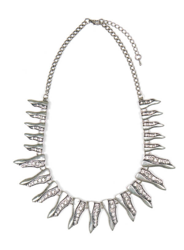Mikelle Necklace - Vintage Silver