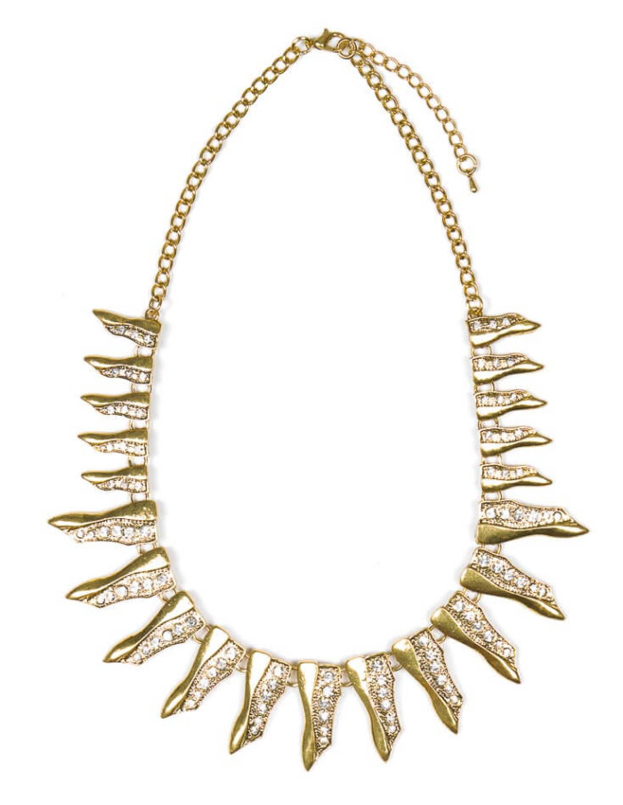 Mikelle Necklace - Vintage Gold