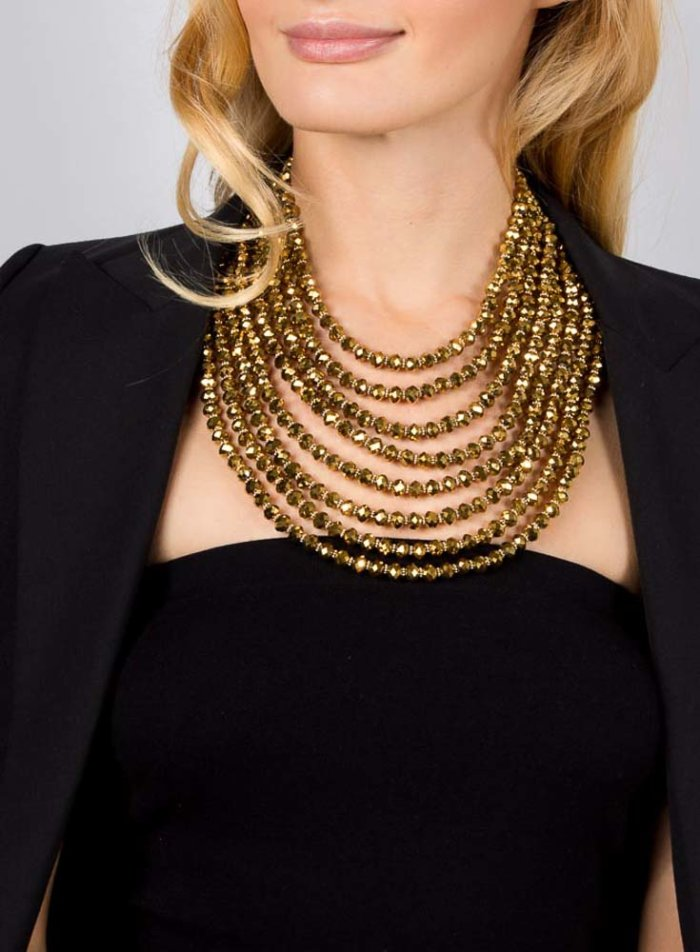 Hanniel Necklace - Gold