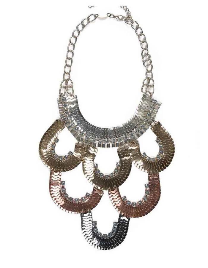 Shauna Waterfall Necklace