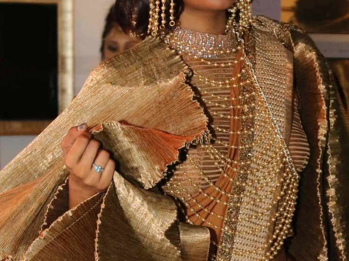 ANK Bodychains in Ethnic Indian Fashion
