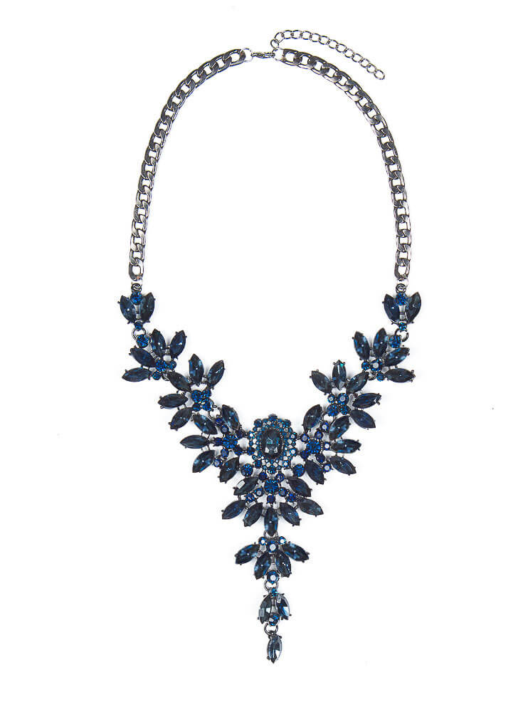 Cornflower Blue Necklace