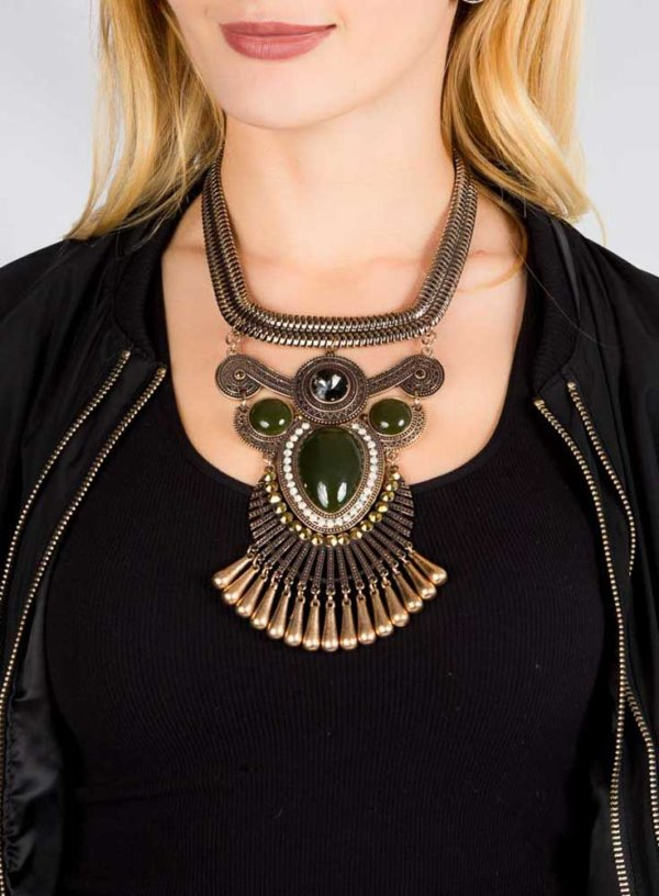 Annas Necklace Earring