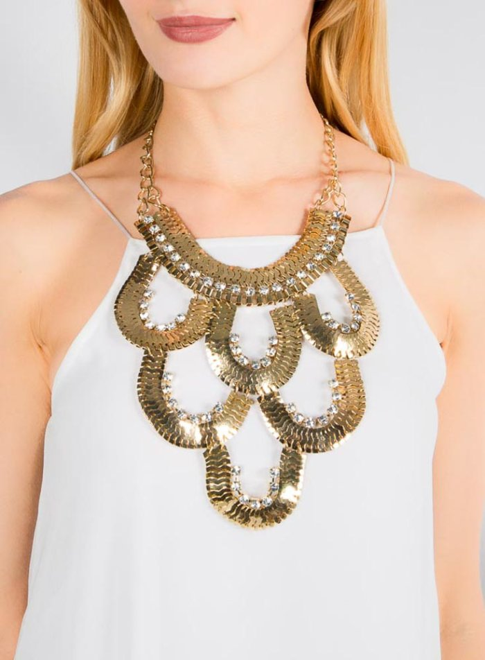 Shauna Waterfall Necklace