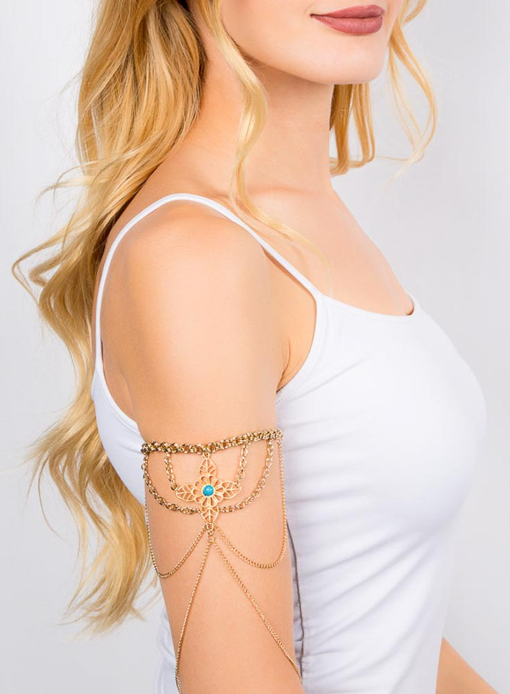 Golden Fiore Armband