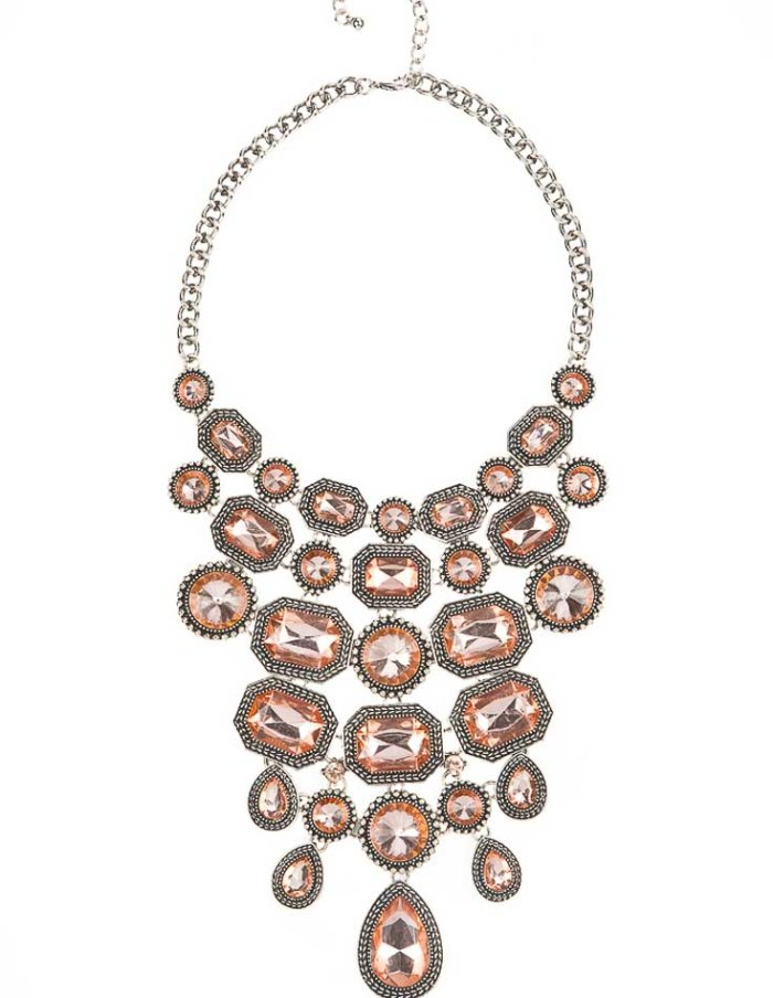 MARGUERITE NECKLACE – ROSE
