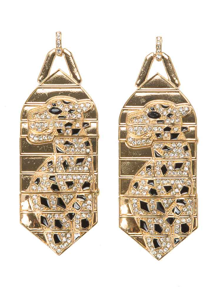 Magnificent Leopard Earrings
